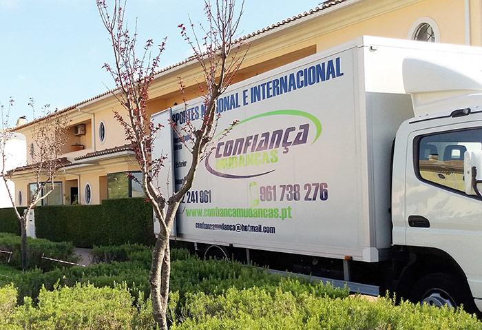 Transporte de mudanças low-cost